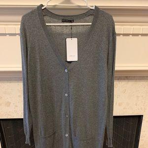 Zara soft long cardigan